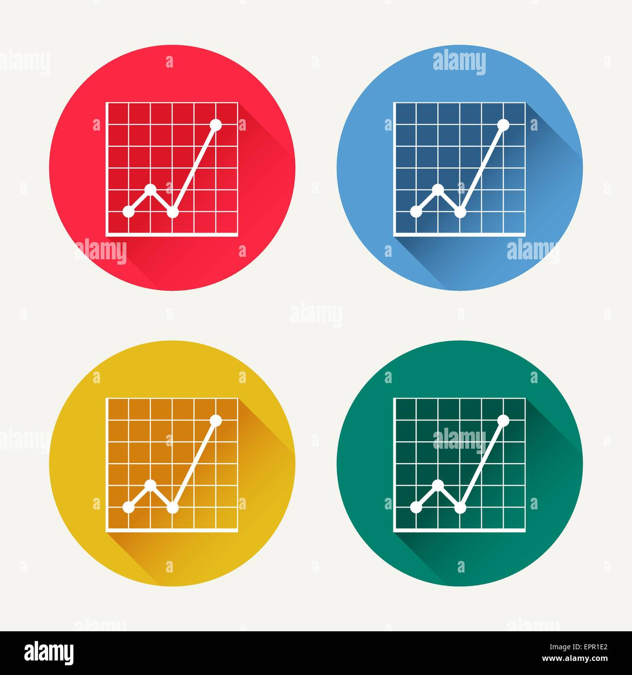 Vector diagram icon set market analysis statistics business vector diagram icon set market analysis statistics business diagrams colored icons web design and infographic element trendy pooptronica