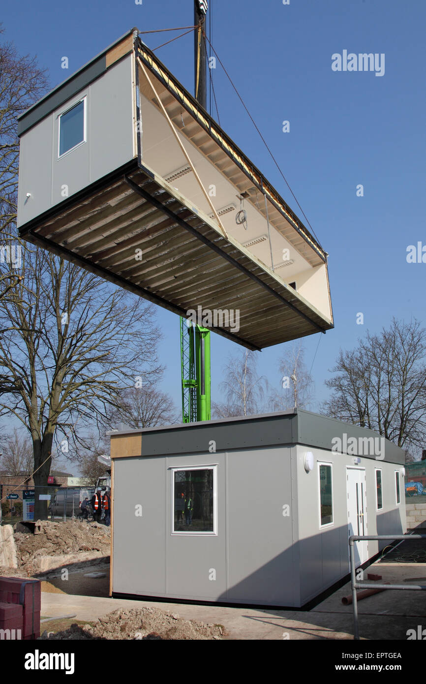 Modular Building modular building stock photos & modular building stock images - alamy