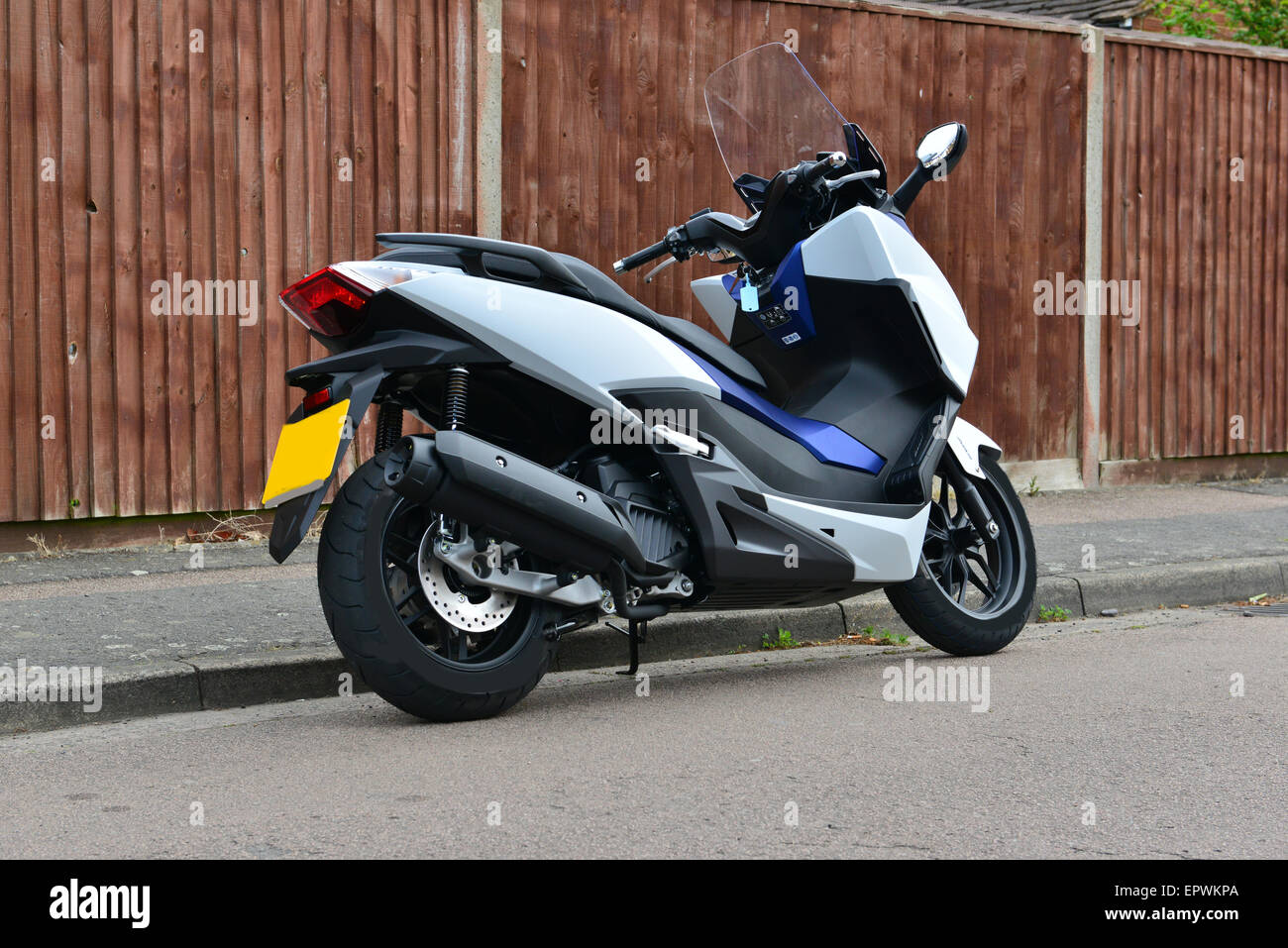 honda forza 125 scooter stock photo royalty free image 82928226 alamy. Black Bedroom Furniture Sets. Home Design Ideas