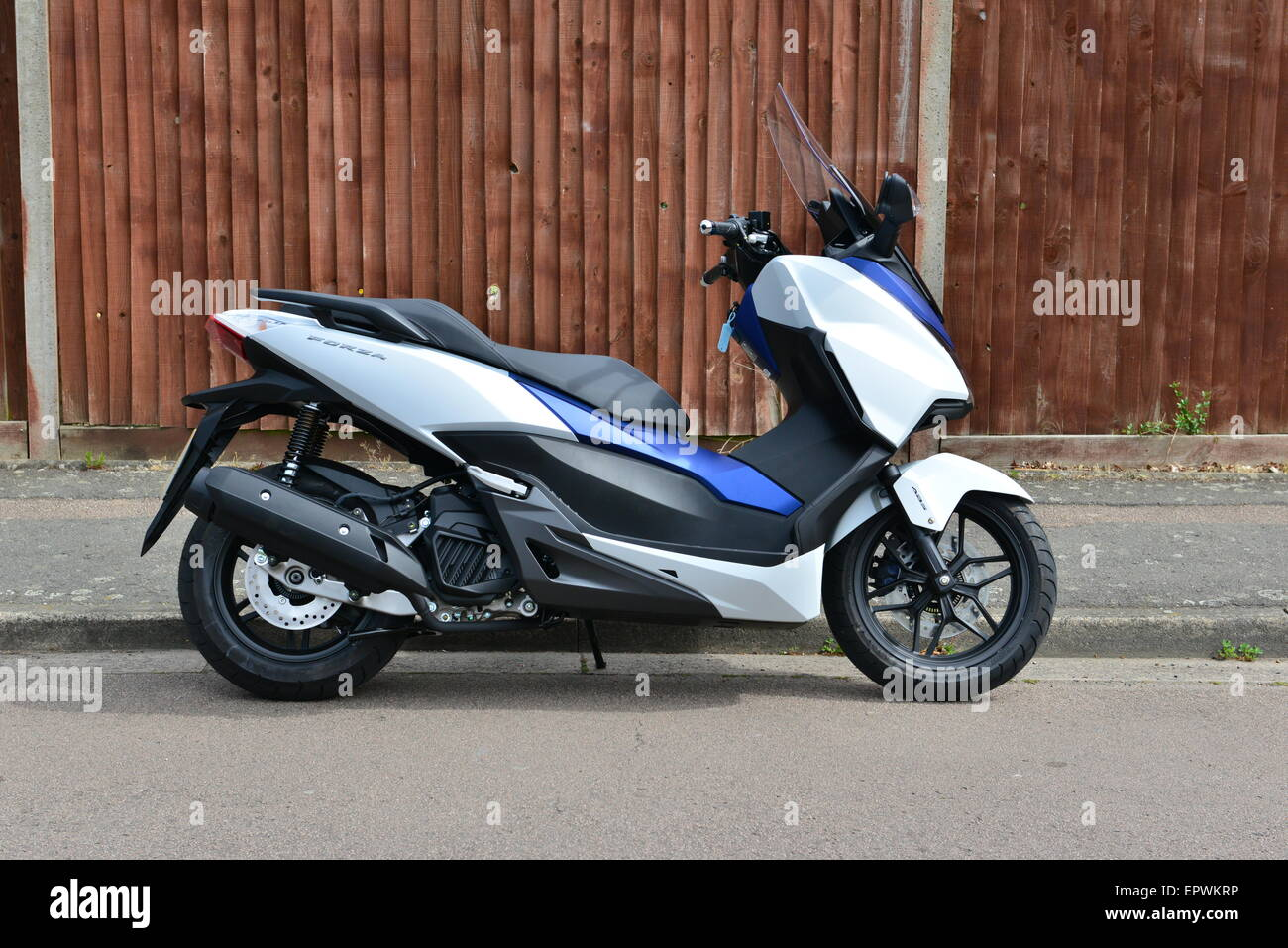 honda forza 125 scooter stock photo royalty free image 82928266 alamy. Black Bedroom Furniture Sets. Home Design Ideas
