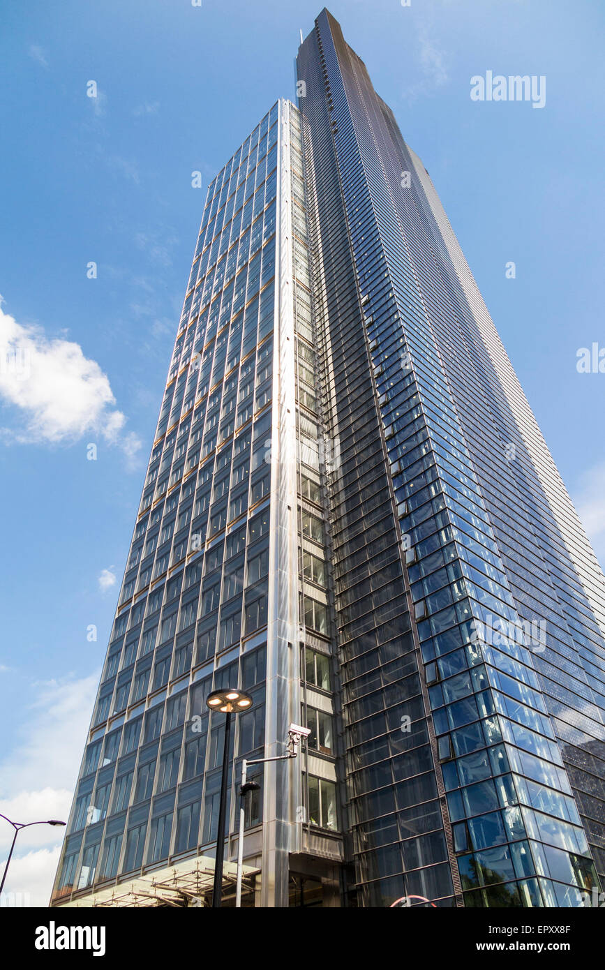 Modern Architecture In London modern architecture: exterior of heron tower, 110 bishopsgate