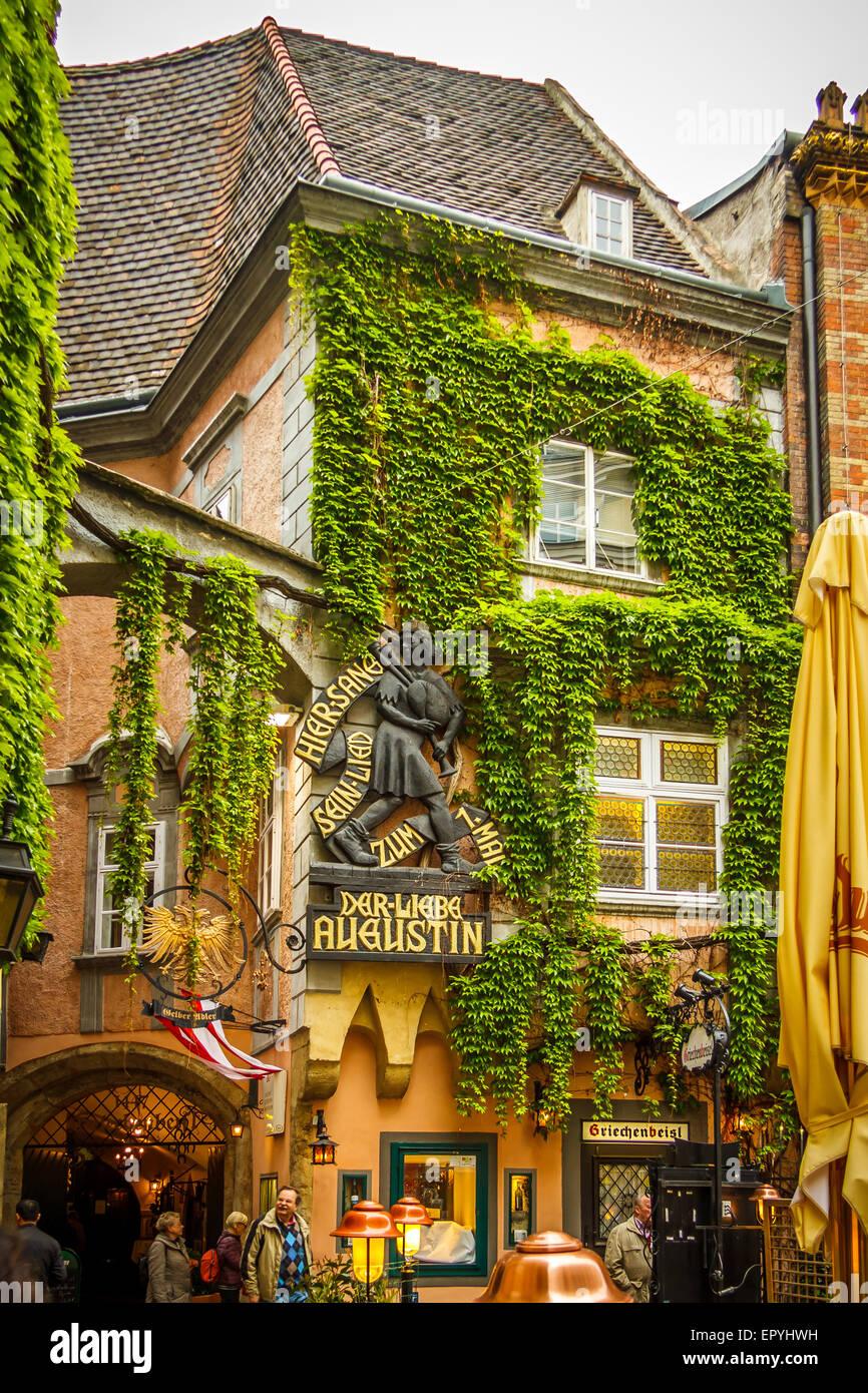 griechenbeisl restaurant in vienna stock photo royalty free image 82970653 alamy. Black Bedroom Furniture Sets. Home Design Ideas