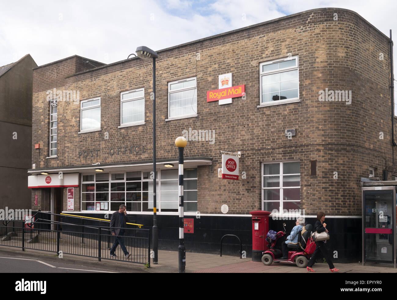art deco style 1930s post office building chester le street co durham england uk art deco office building