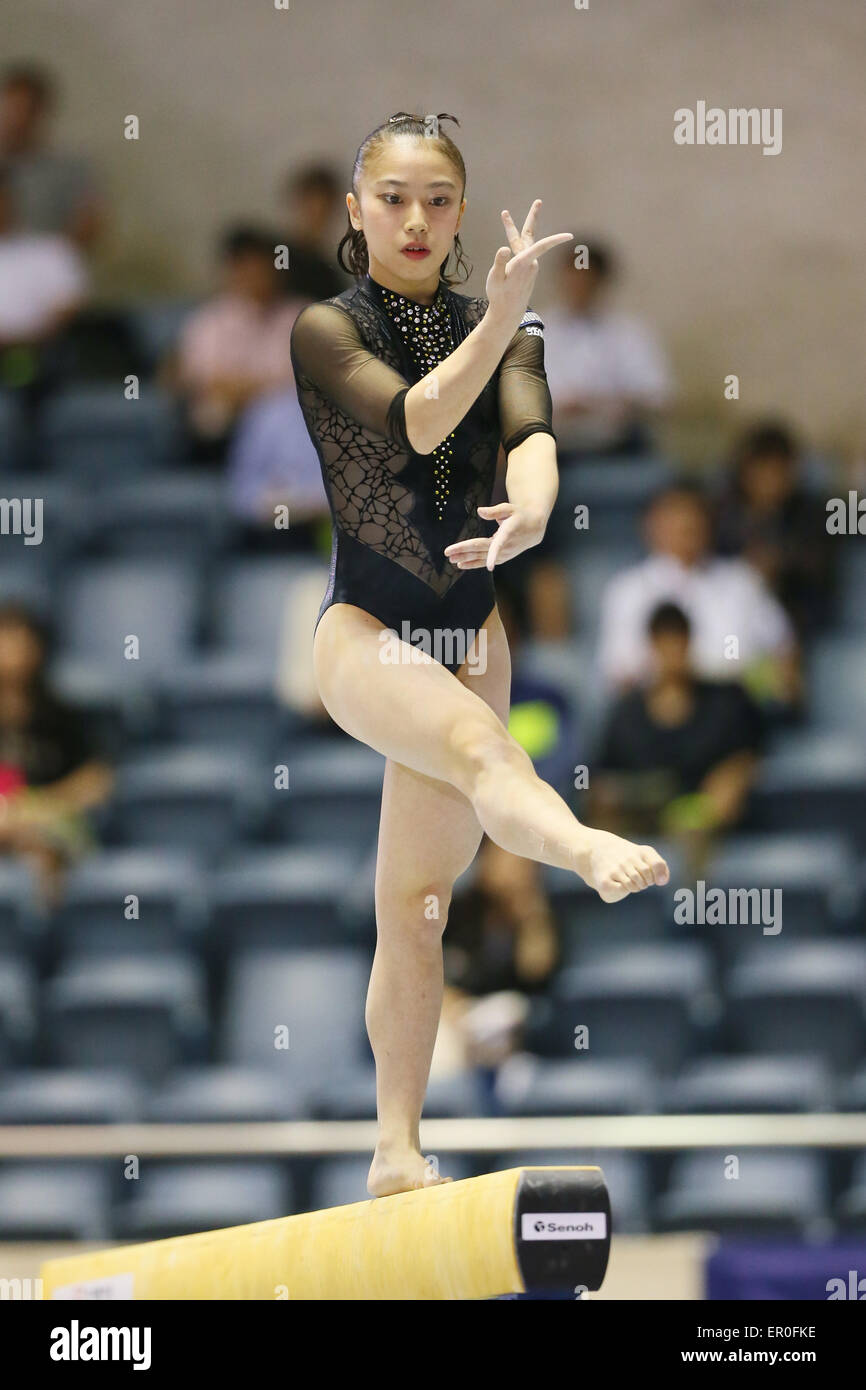 Sakura Yumoto May 17 2015 Artistic Gymnastics The