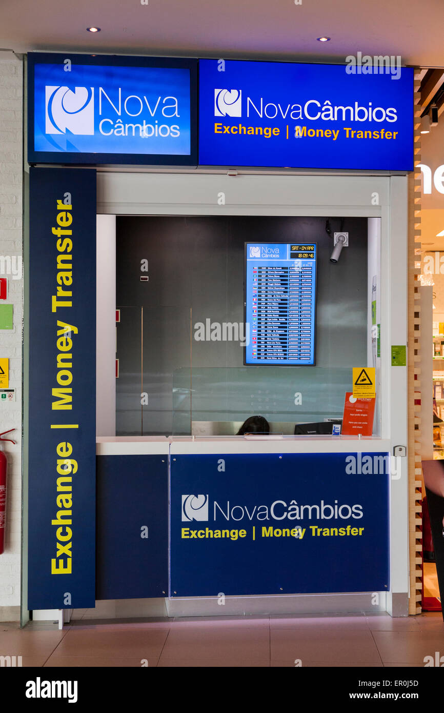 bureau de change office operated by nova cambios novac mbios stock photo royalty free image