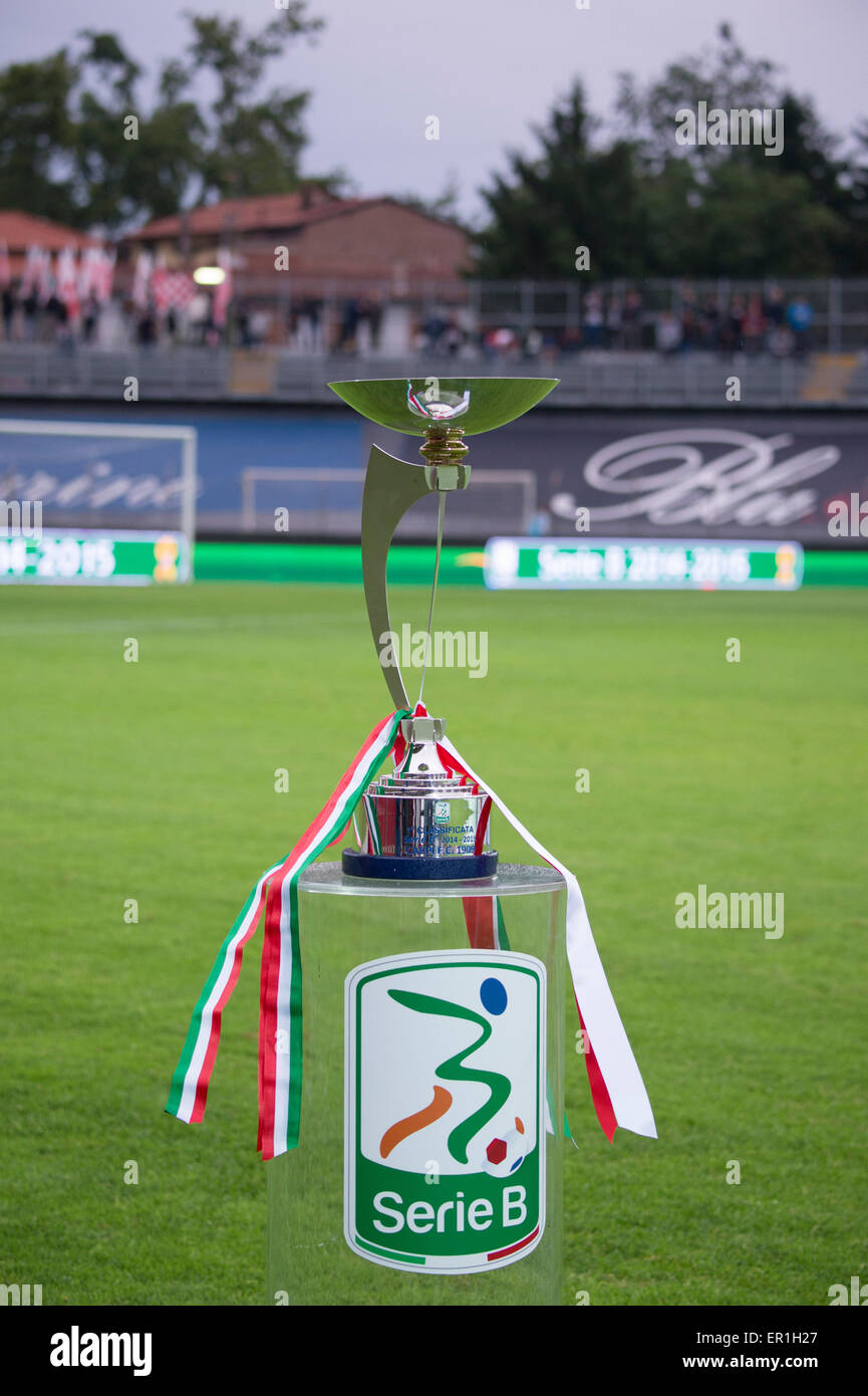 Carpi italy 22nd may 2015 serie b trophy football for Italy b b