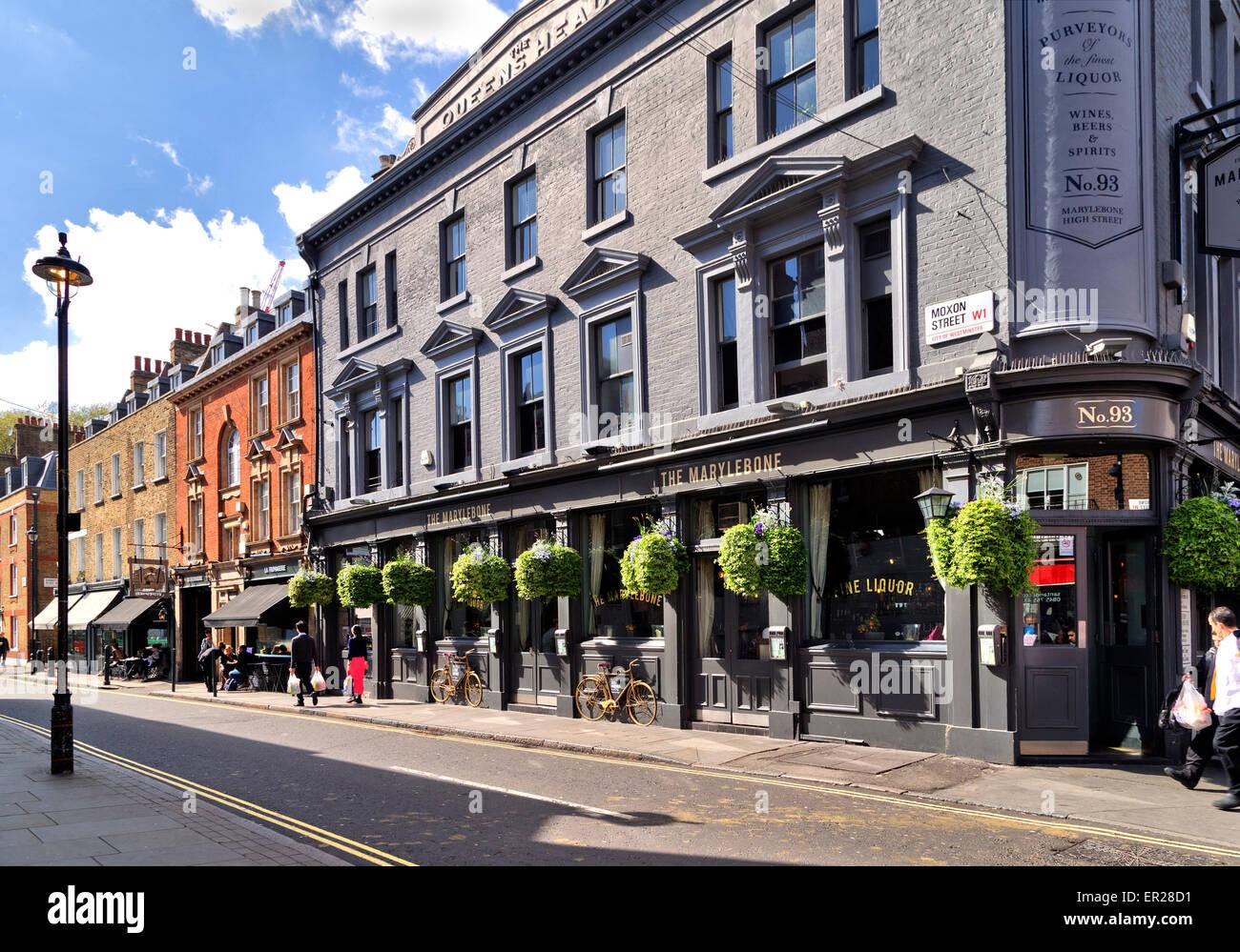 the marylebone pub stock photos u0026 the marylebone pub stock images