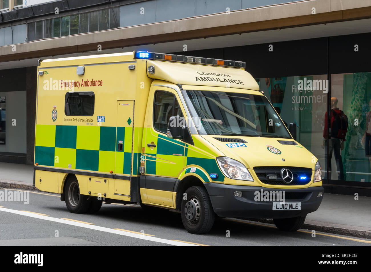 London Ambulance Car Stock Photo Royalty Free Image