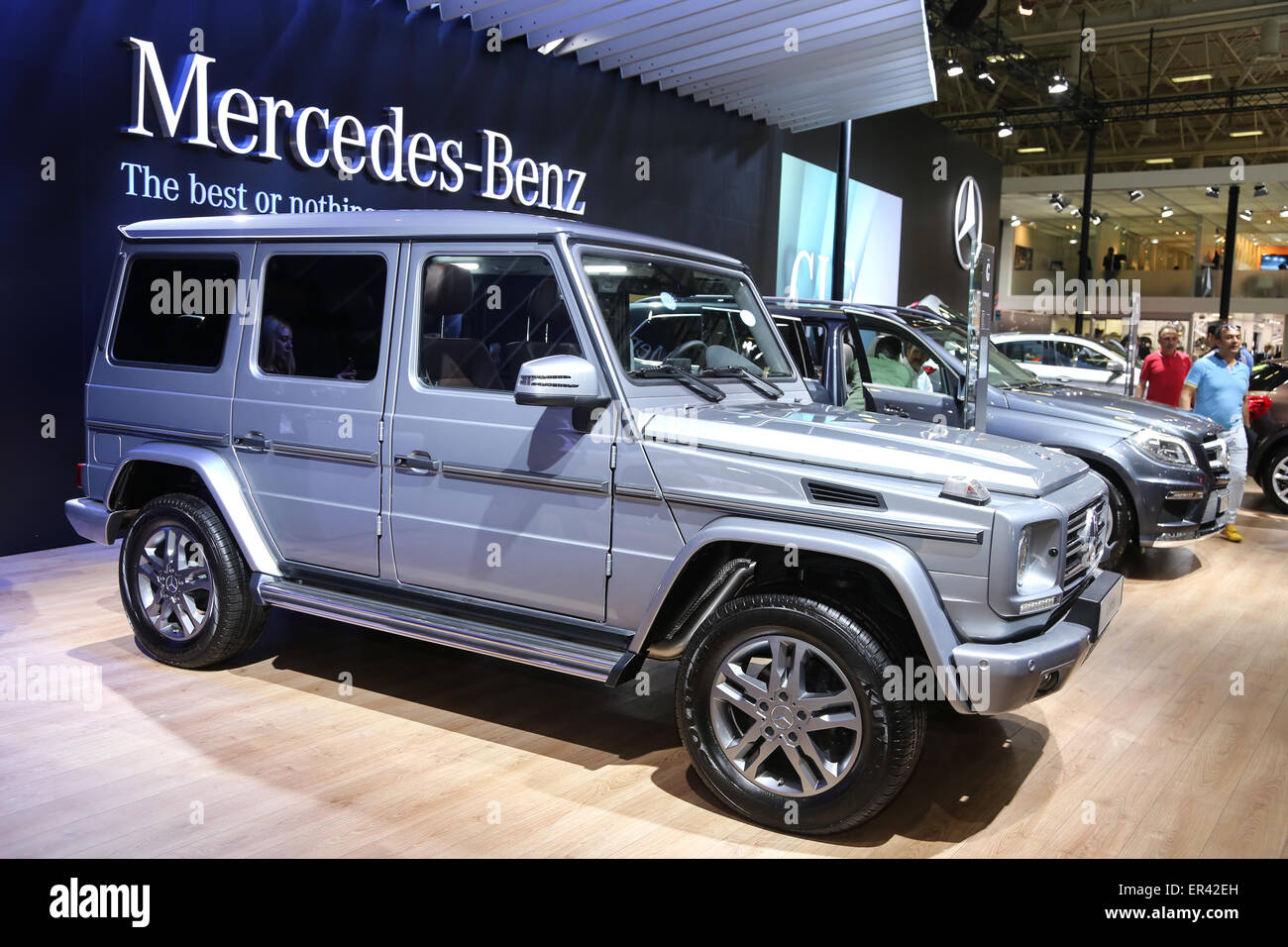 Istanbul turkey may 21 2015 mercedes benz g class car for Mercedes benz turkey