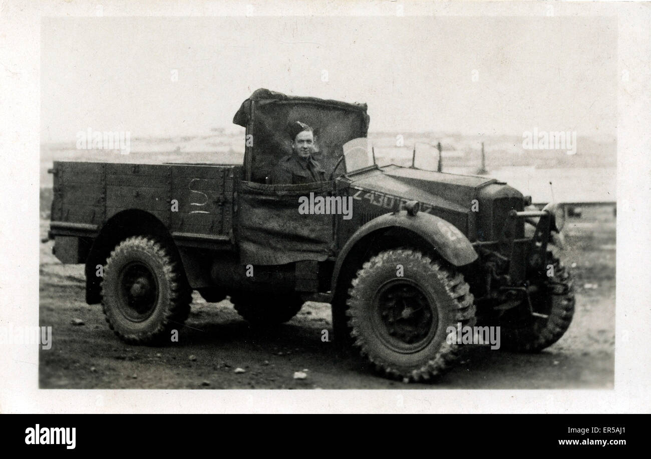World war 2 vintage morris commercial army truck isle of wight channel islands