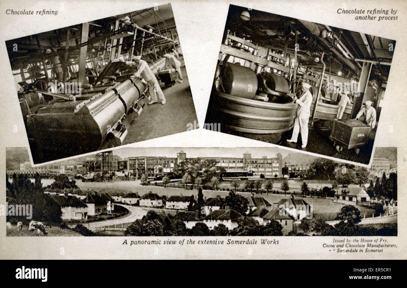 Fry's Chocolate Works, Somerdale, Keynsham, near Bristol, Somerset ...