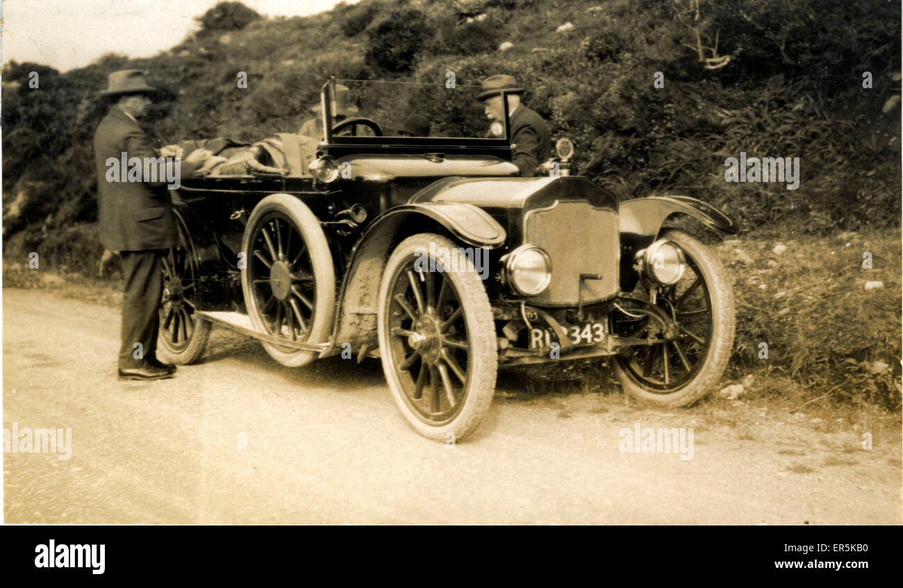 Rover Vintage Car, Britain. Truro registration. 1920s Stock Photo ...