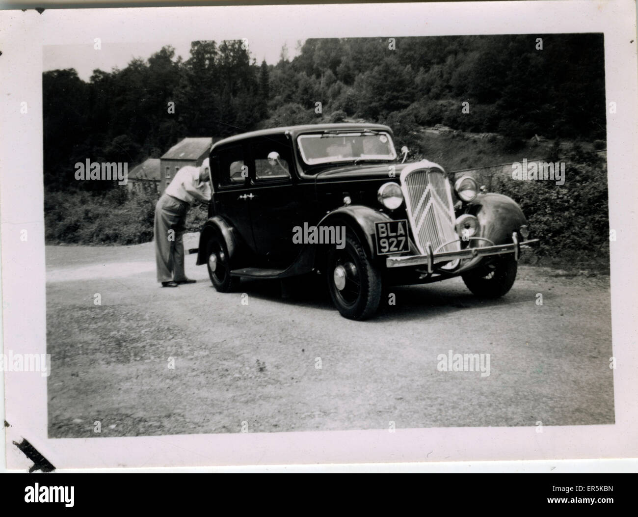 Citroen Vintage Car , England. Reading registration. 1920s Stock ...