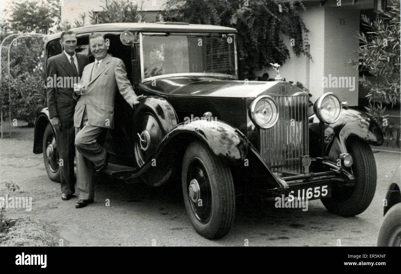 Rolls Royce Vintage Car, Scotland. Edinburgh registration. 1920s ...