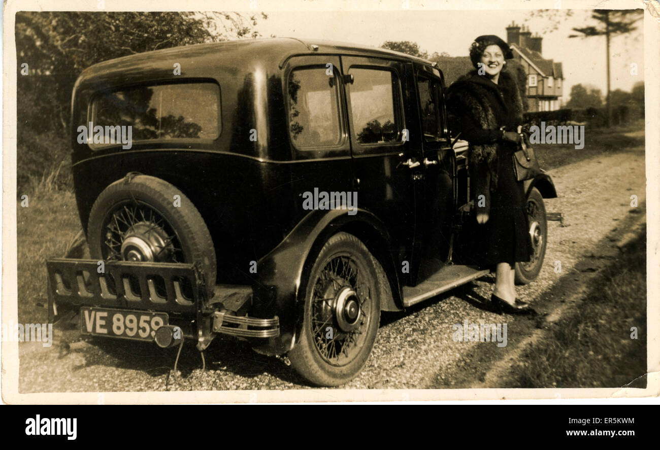 Morris Ten Four Vintage Car, England. Cambridge registration. 1935 ...