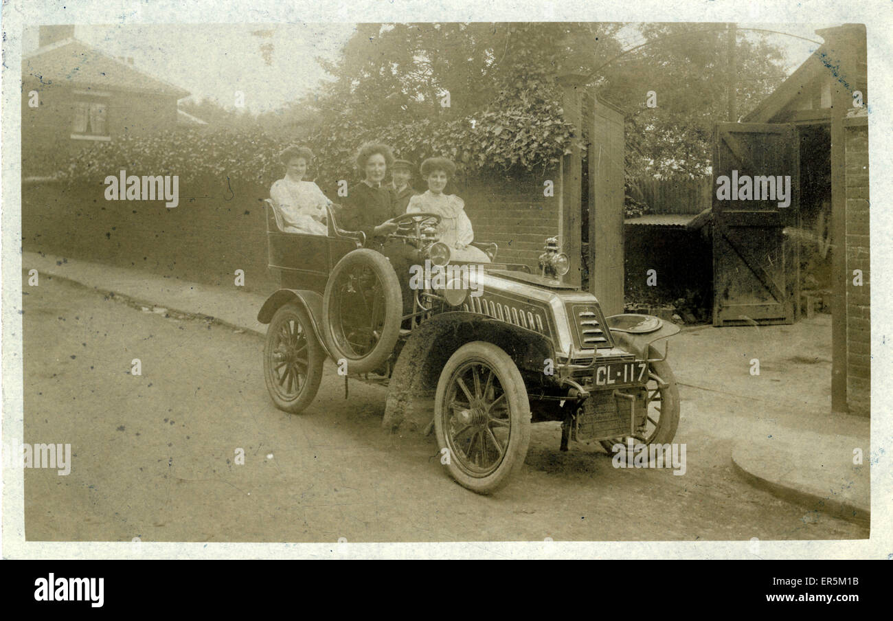 De Dion Vintage Car, England. Norwich registration. 1900s Stock ...
