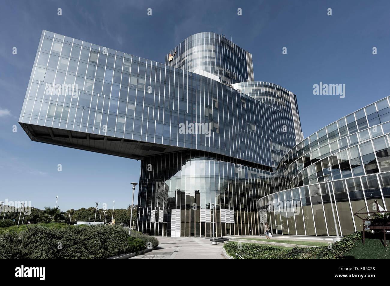 Modern Architecture Barcelona spain, catalonia, barcelona, torre mare nostrum, modern