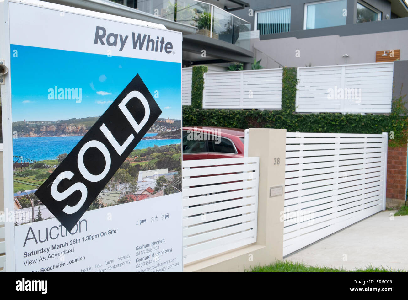 Home House Property For Sale Sold By Auction In Curl Curl Sydney,australia