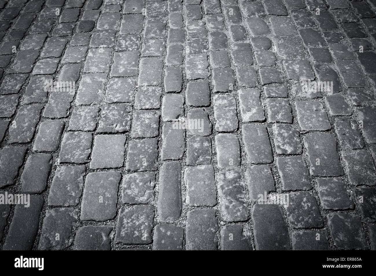 Old Cobblestone Road Old european co...