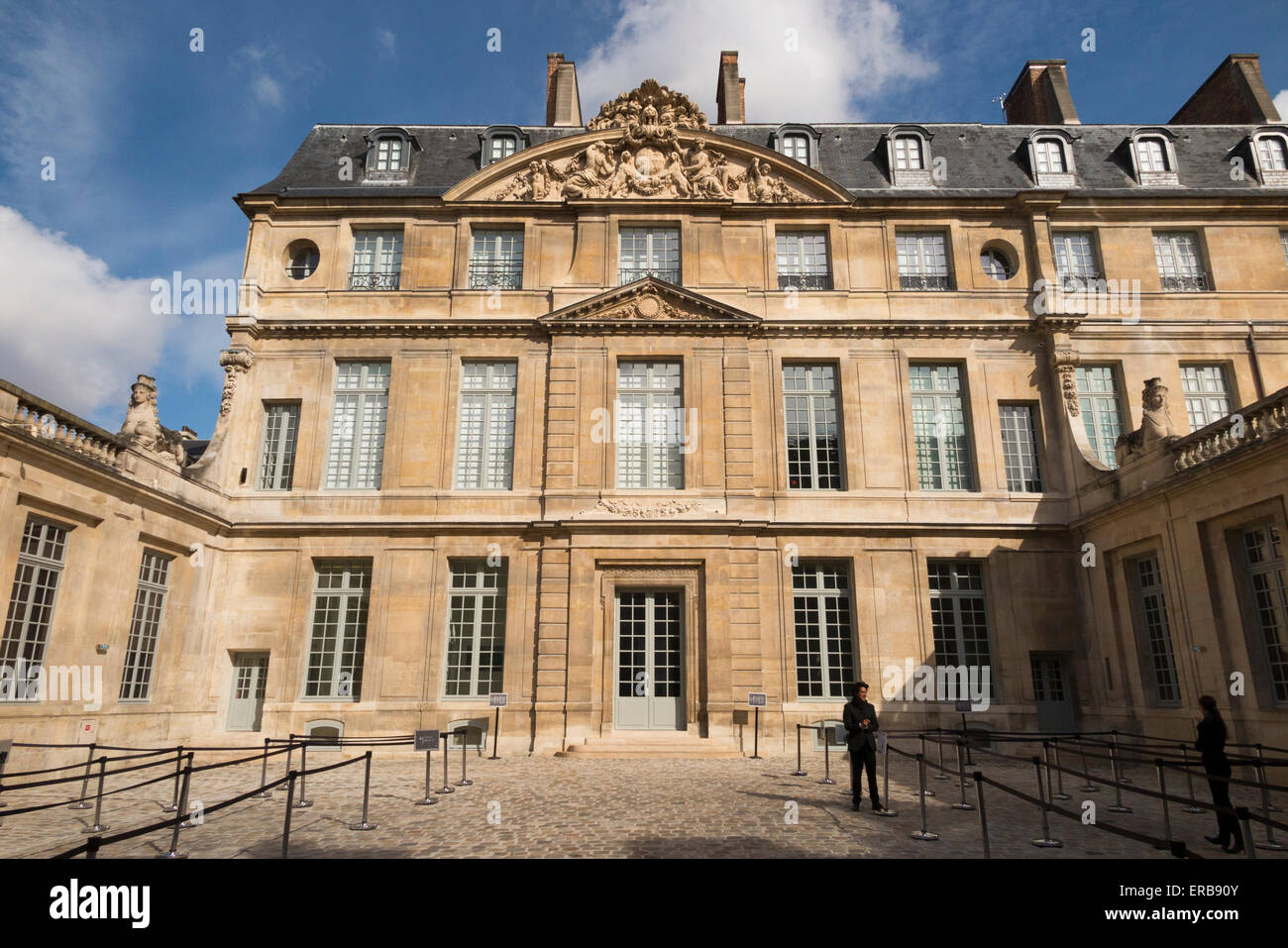 Exterior outside front facade of mus e national picasso paris museum stock photo royalty free - Musee picasso paris horaires ...