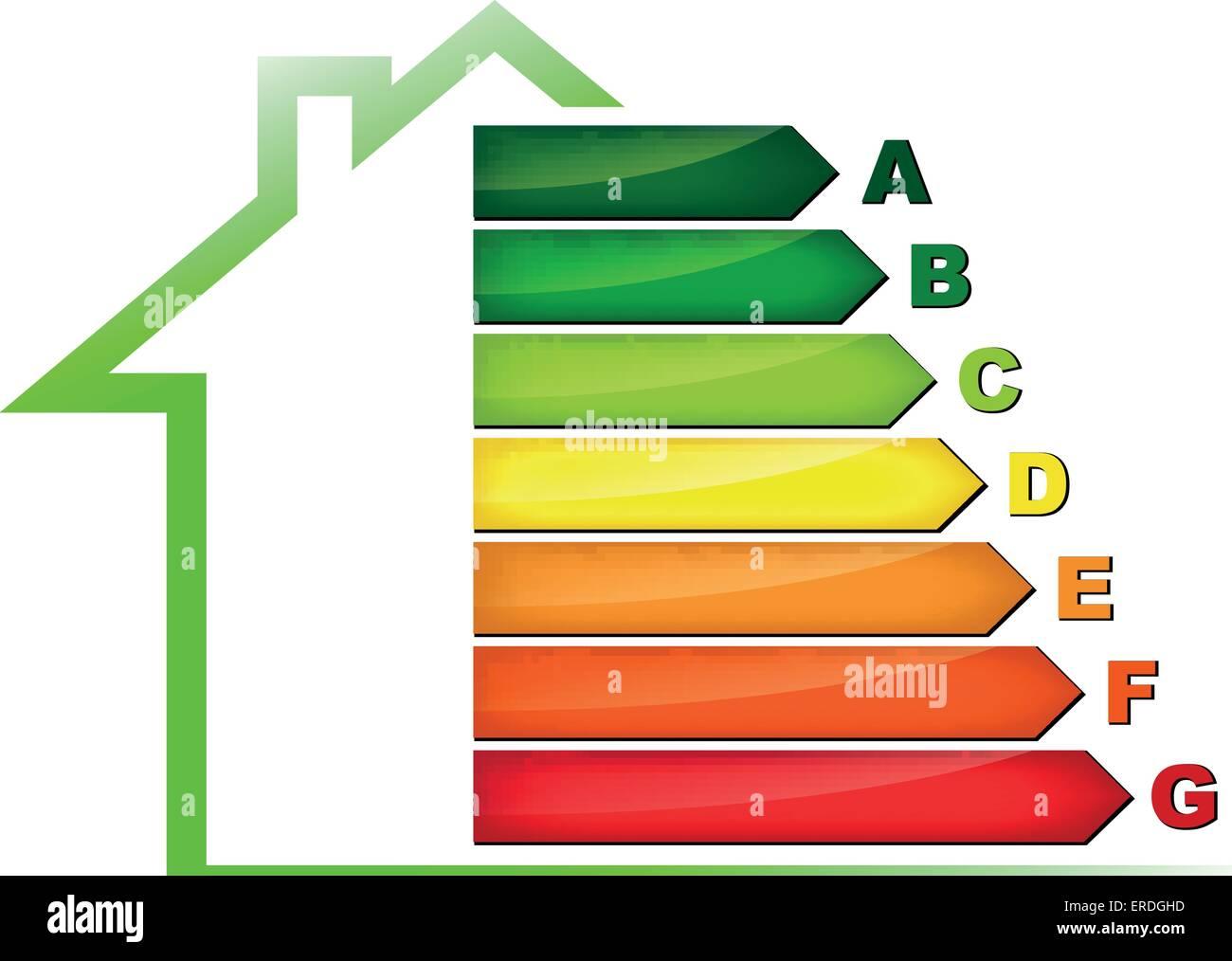 Vector illustration of energy efficiency symbol on white vector illustration of energy efficiency symbol on white background buycottarizona