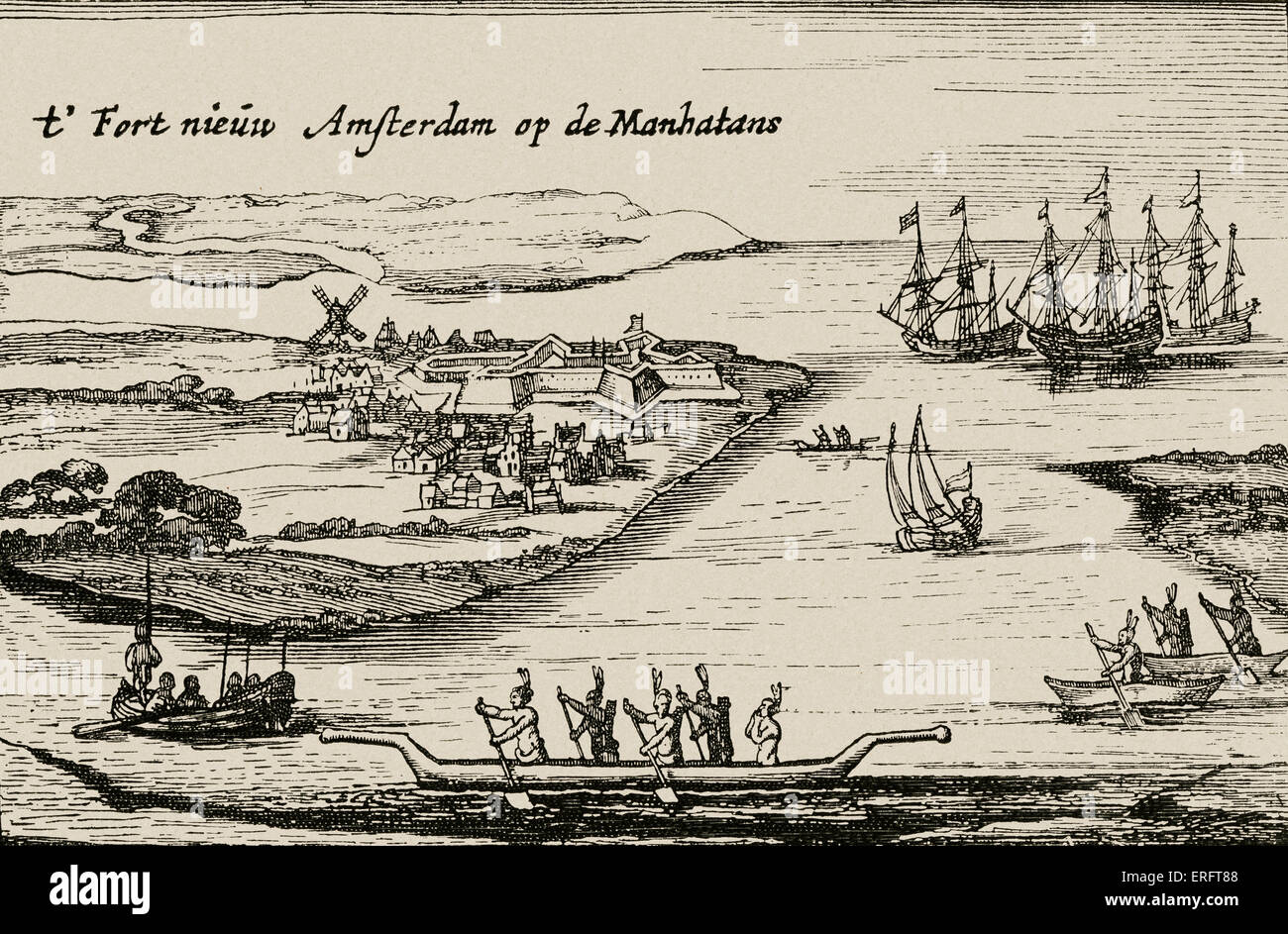 new amsterdam view of the dutch colonial settlement that