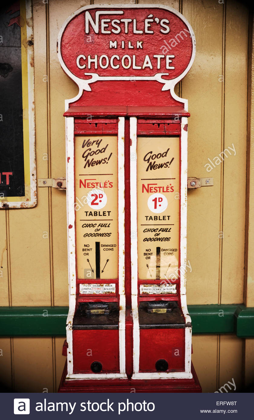 vending machine vintage