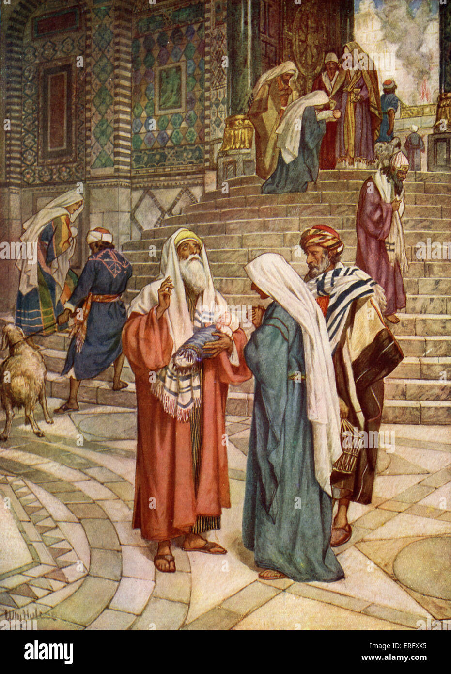 Simeon The Righteous The Presentation Of Jesus At The