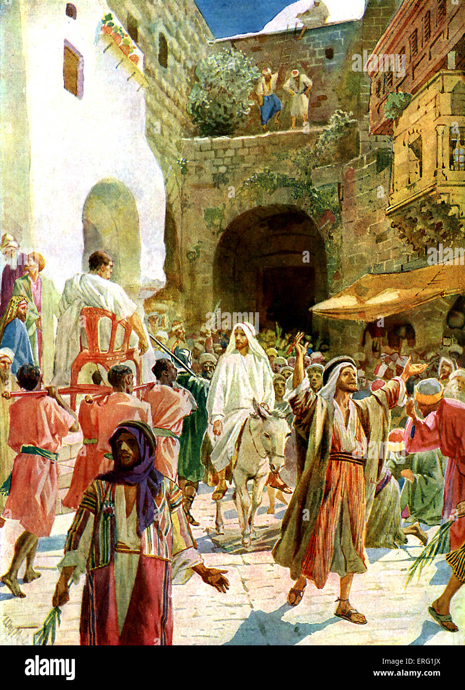 jesus entetres jerusalem These are my questions based on the historical fact -- yes, fact -- that pilate  executed jesus at passover did jesus go to jerusalem to get.