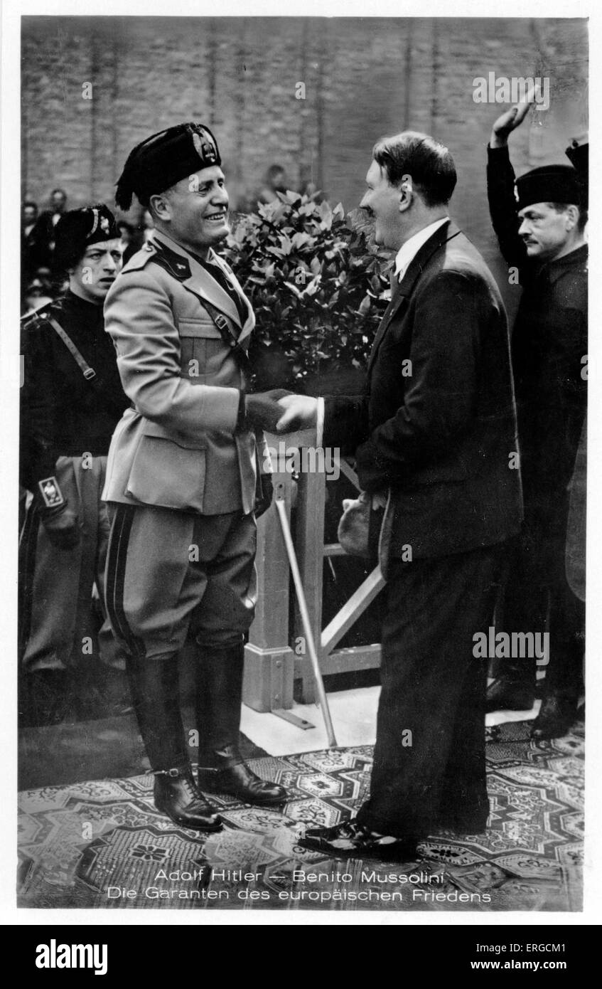 german politician stock photos german politician stock images adolf hitler and benito mussolini af n born german politician and the leader