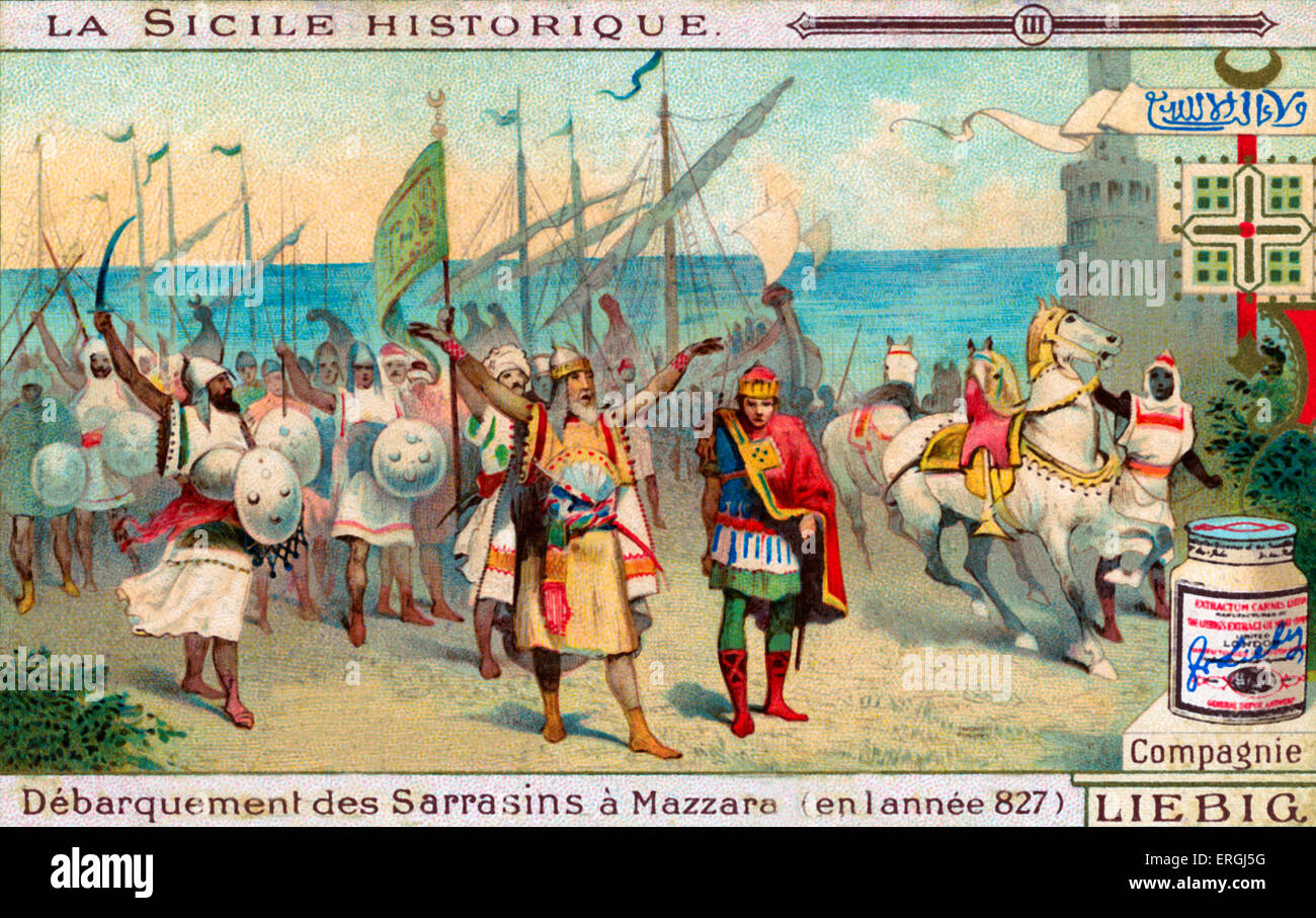 the history and occupation of sicily by arabs in the ninth century Did the moors really invade sicily, italy centuries by arabs in the 7th century and ruled by during two long periods of its history.