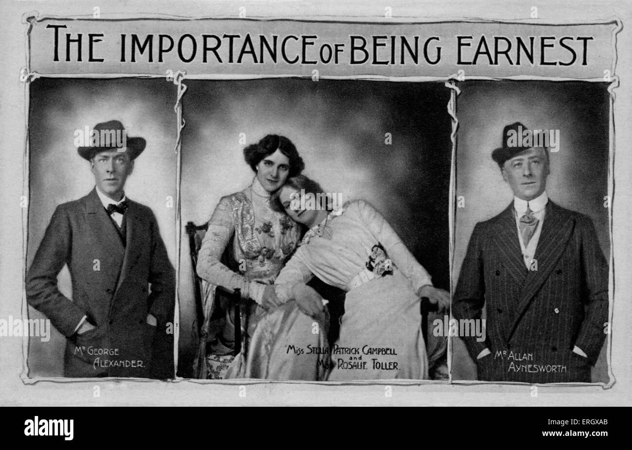 The importance of being earnest': Comedy by Oscar Wilde ...