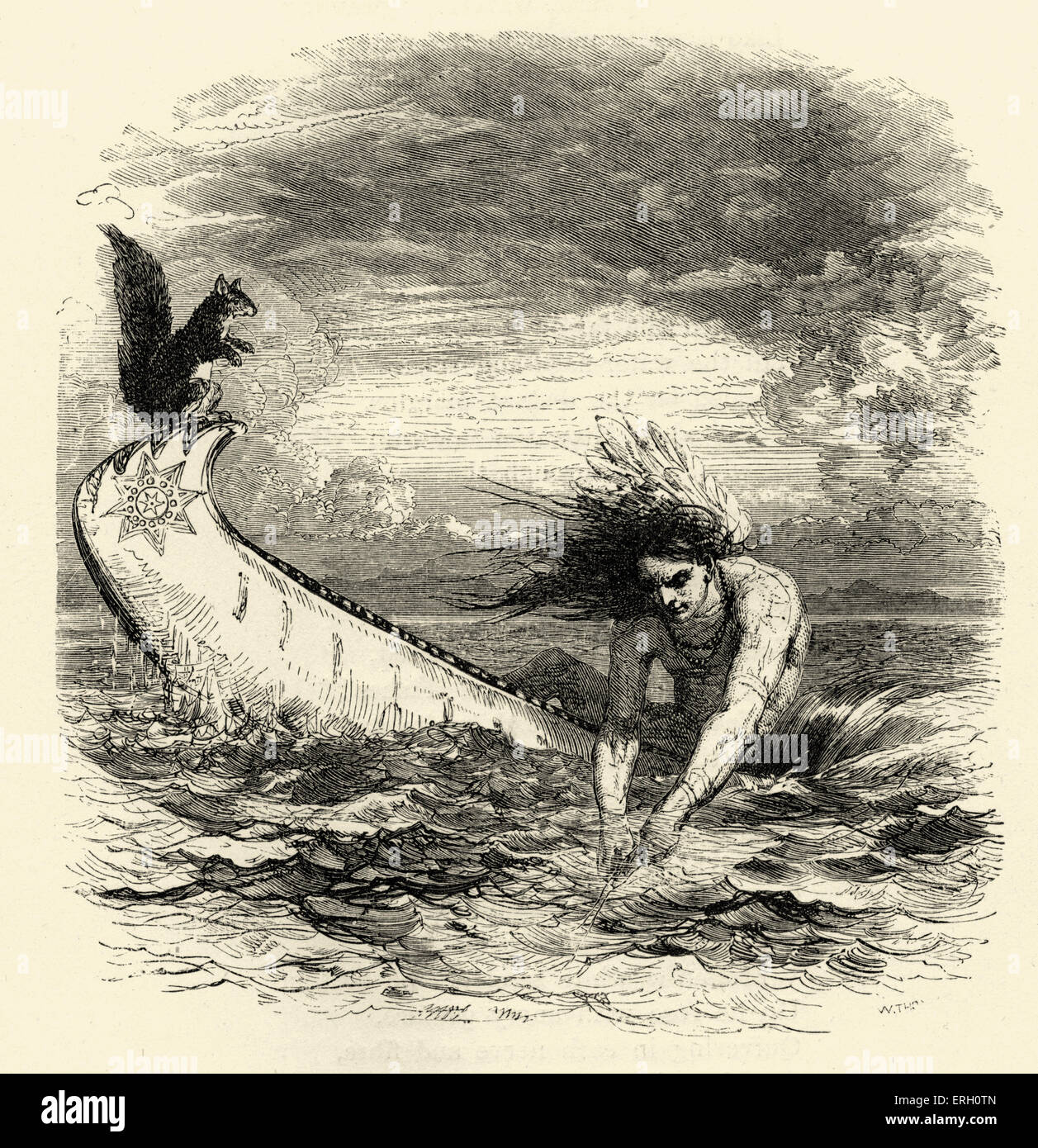 song of hiawatha by henry wadsworth longfellow hiawatha fishing song of hiawatha by henry wadsworth longfellow hiawatha fishing henry wadsworth american lyric poet 27 1807 24