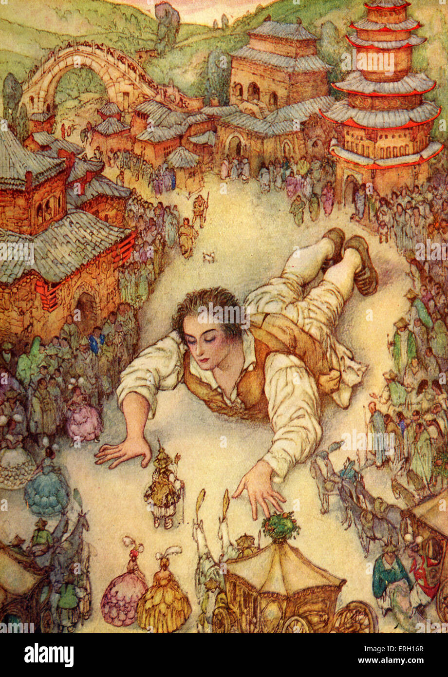 Gulliver S Travels A Voyage To Lilliput By Jonathan