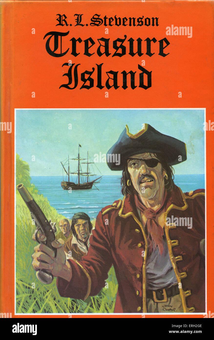 Treasure Island' by Robert Louis Stevenson. First published as a ...