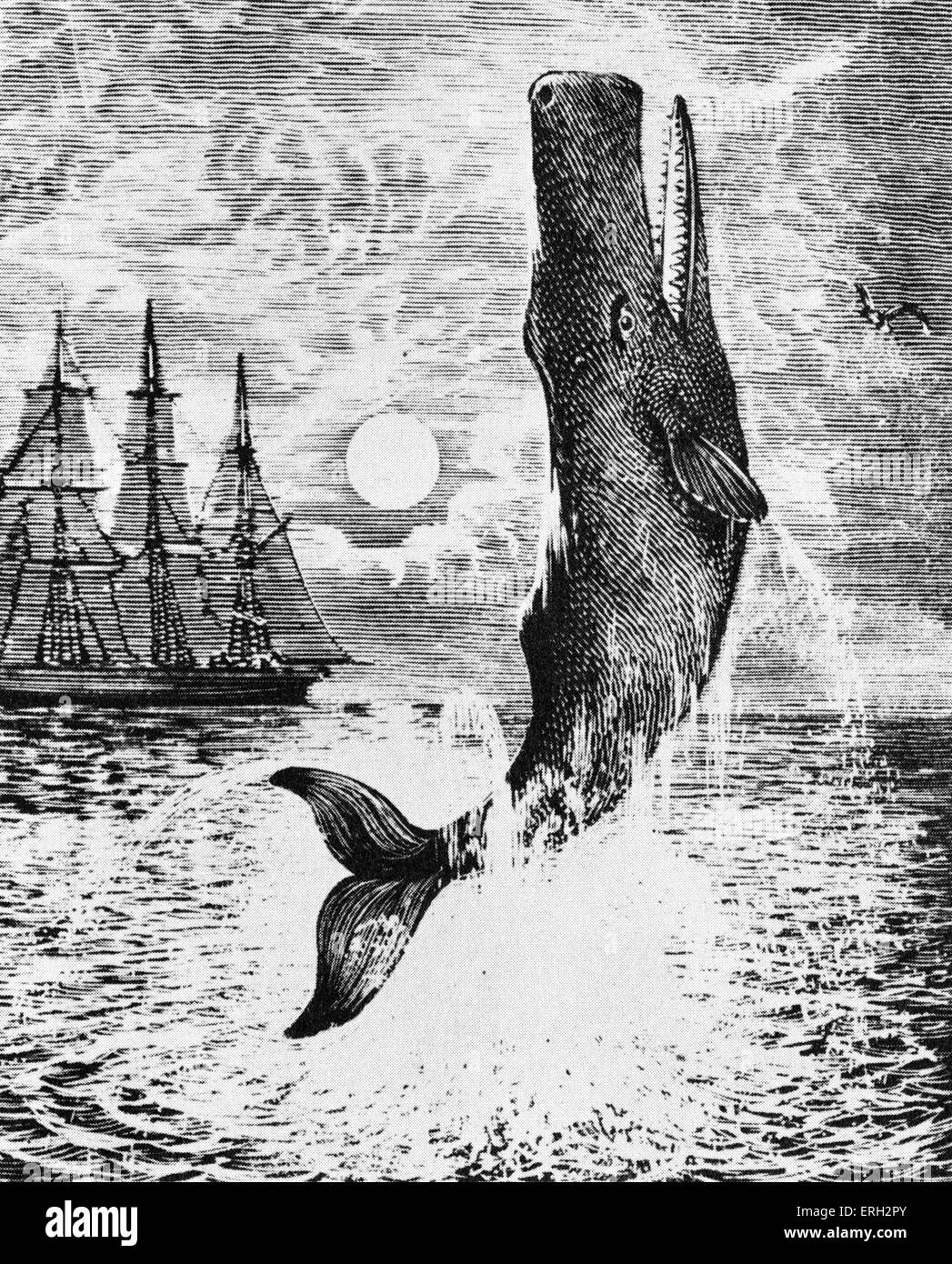 The use of symbolism in herman melvilles novel moby dick