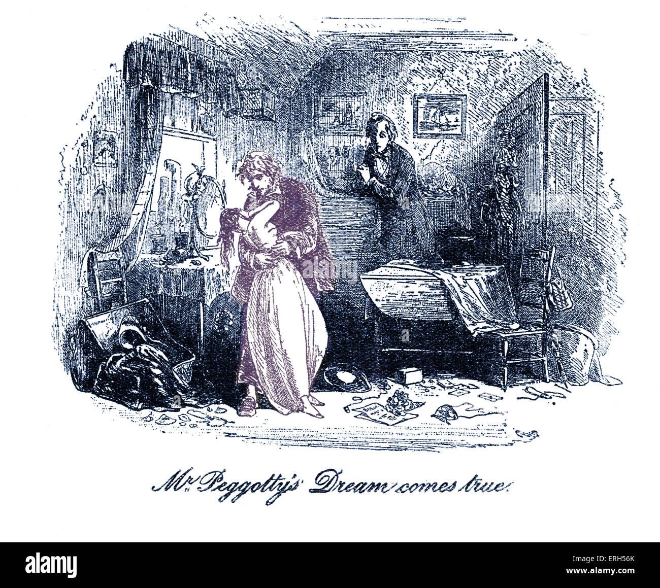 david copperfield by charles dickens illustration by phiz hablot david copperfield by charles dickens illustration by phiz hablot knight browne caption reads mr peggotty s dream comes