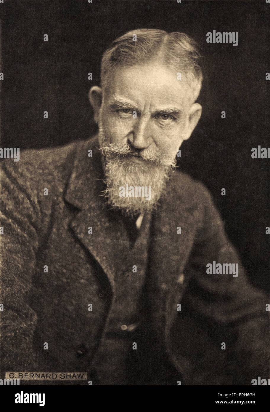george bernard shaw portrait english writer stock george bernard shaw portrait english writer 1856 1950