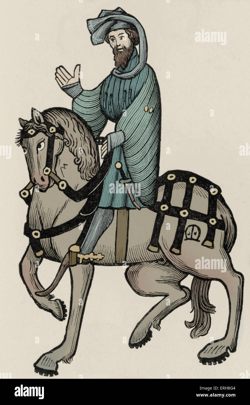 """an examination of the character of the knight in the knights tale by geoffrey chaucer 98 quotes from the canterbury tales: ― geoffrey chaucer, the canterbury tales 47 likes """"he who repeats a tale after a man,."""