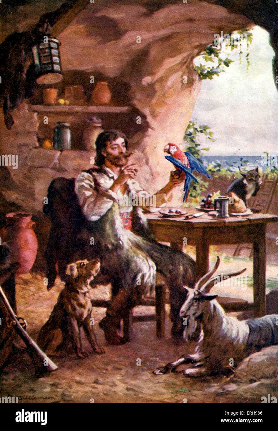 """a review of daniel defoes robinson crusoe Read critical review on daniel defoe's """"robinson crusoe"""" free essay and over 88,000 other research documents critical review on daniel defoe's """"robinson crusoe."""