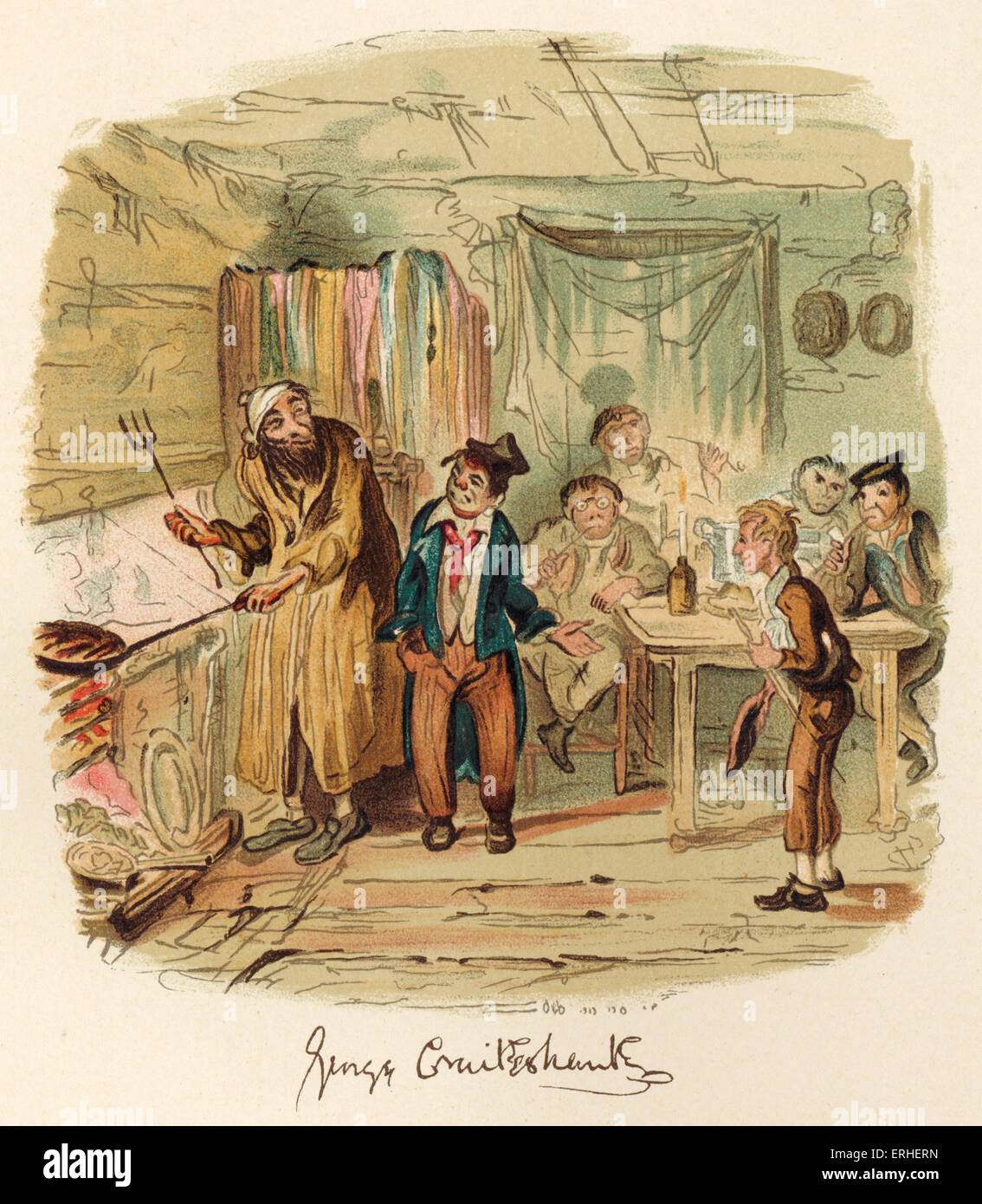 Image result for fagin dickens illustrations