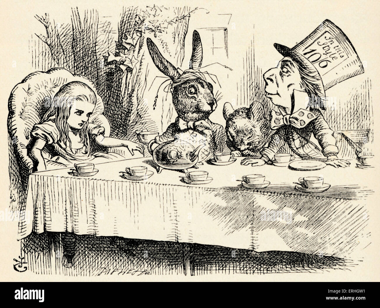 the dilemma of alice in alice in wonderland by lewis carroll Alice and the 'moral dilemma'  and then making a discovery about the connections throughout the 'freshwater circle' to lewis carroll and one work in particular.
