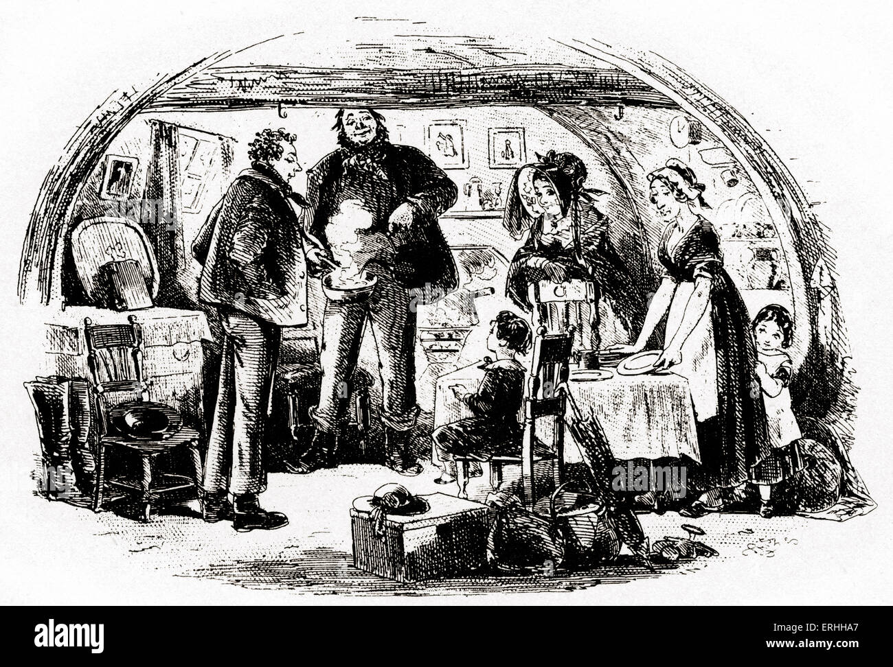 charles dickens s novel david copperfield scene i am stock charles dickens s novel david copperfield scene i am hospitably received by mr peggotty english novelist 7