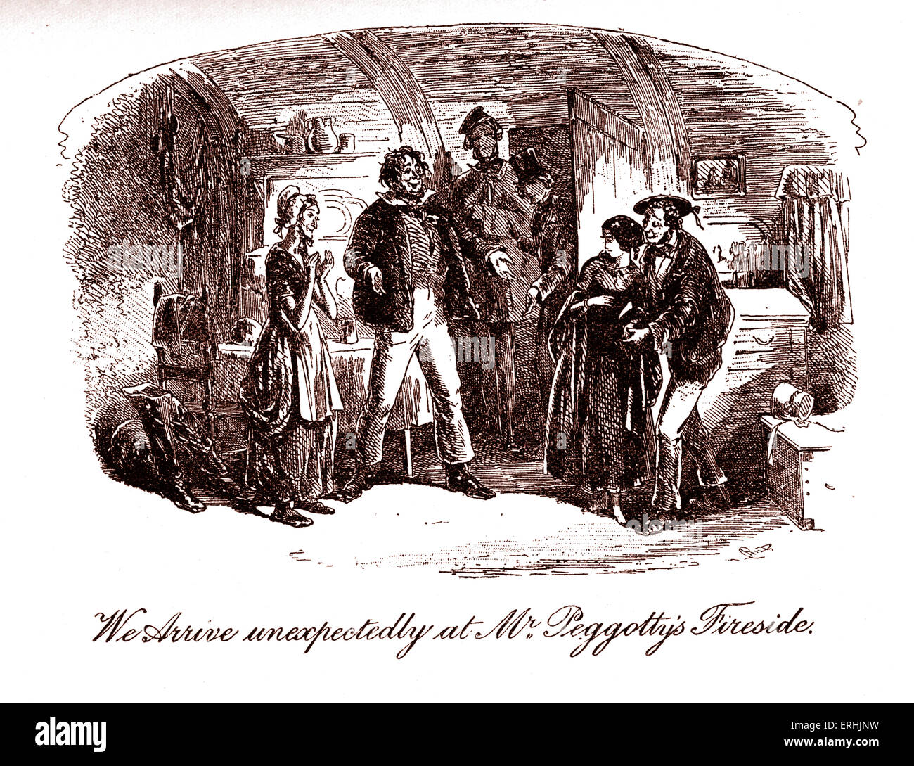 character peggotty stock photos character peggotty stock images david copperfield by charles dickens illustration by phiz hablot knight browne caption
