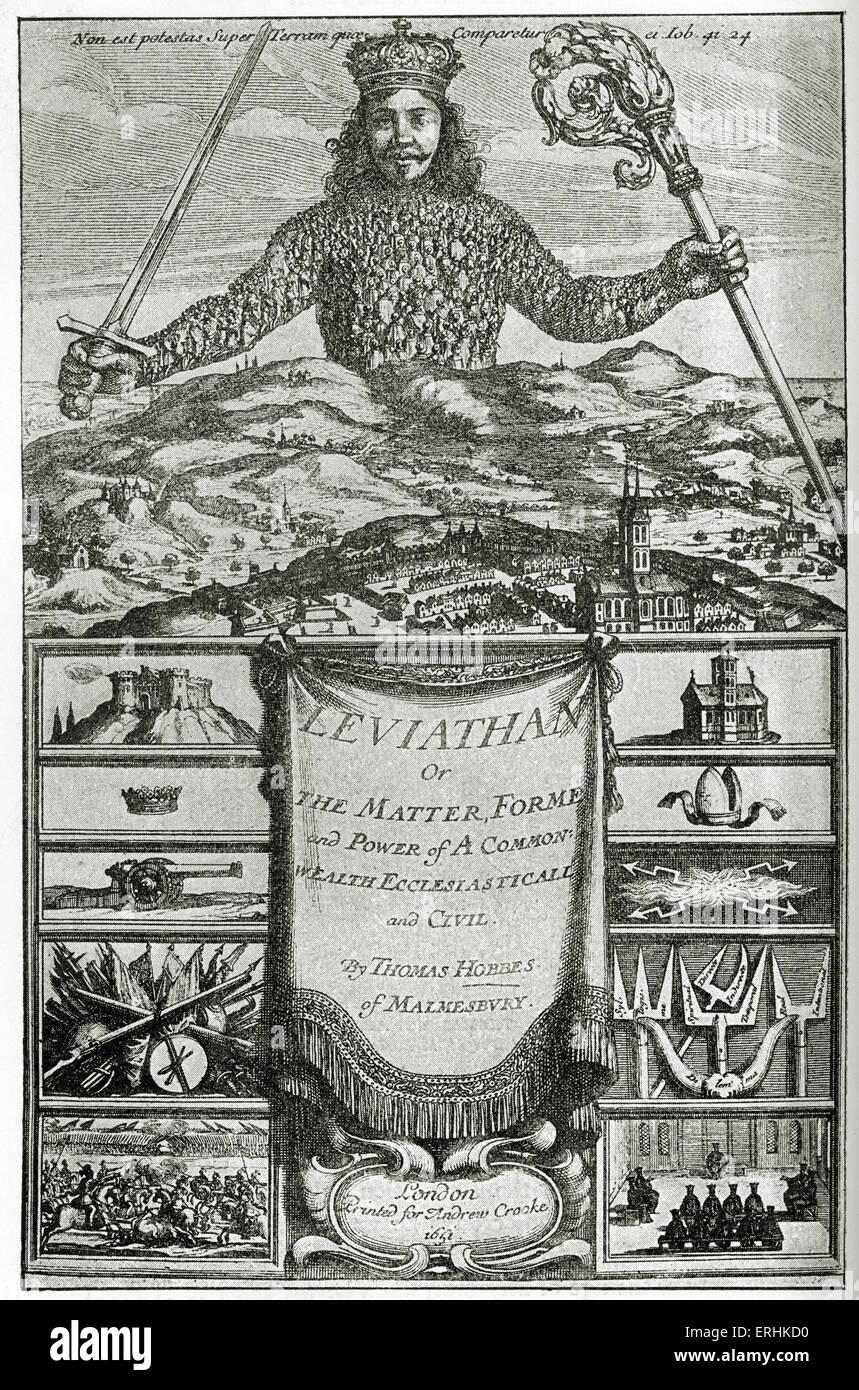 the concept of the state of nature in leviathan a book by thomas hobbes More relevant to a modern reader of thomas hobbes's the leviathan is the question: how could anyone offer a theory of absolutist rule, without subscribing to an organicist theory of society and whilst retaining a belief in a government of far fewer powers than that of the present day united kingdom another problem is that if the sovereign is.
