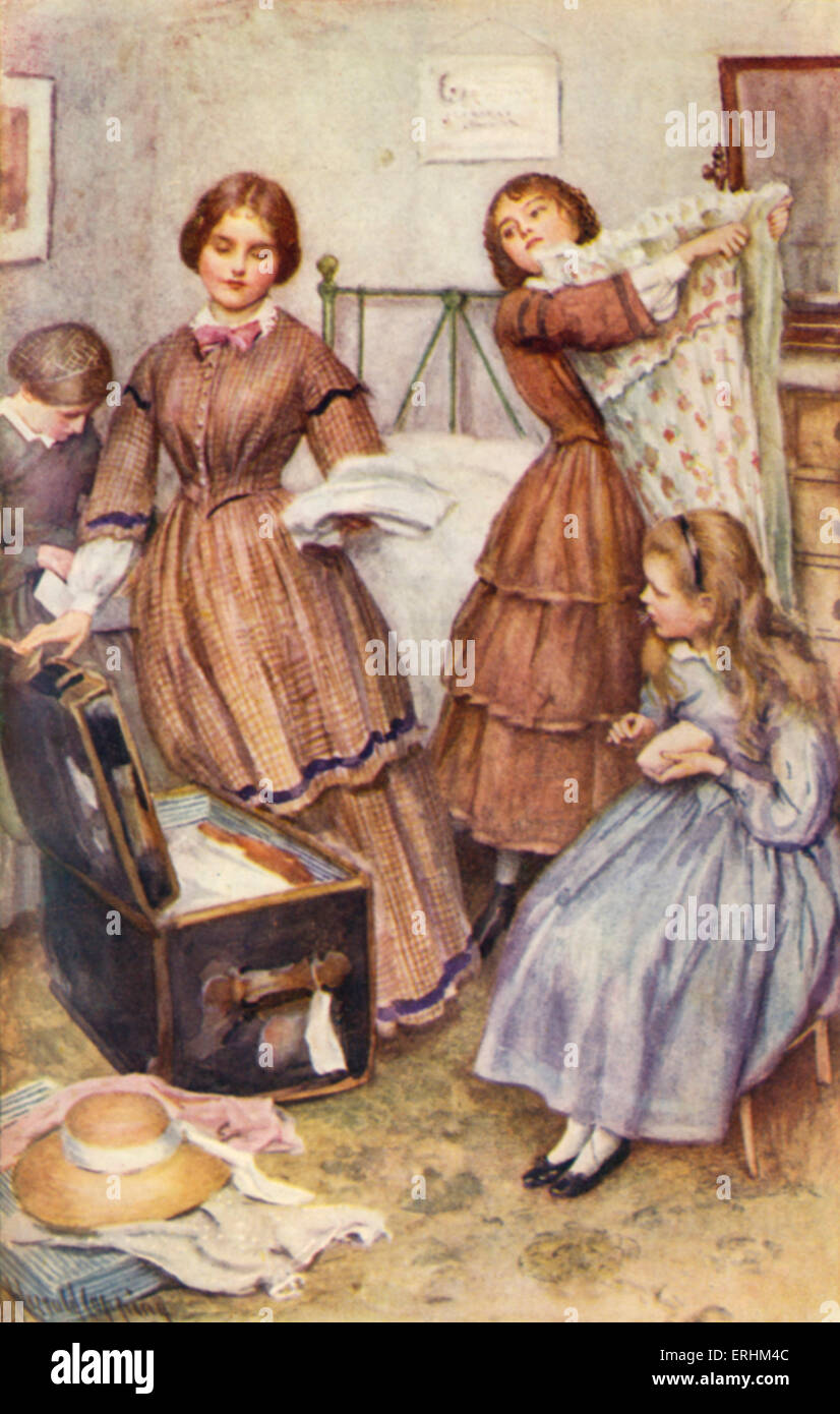"""essays on little women by louisa may alcott """"every few weeks she would shut herself up in her room,"""" author louisa may  alcott writes of her most famous heroine, josephine march, """"put."""