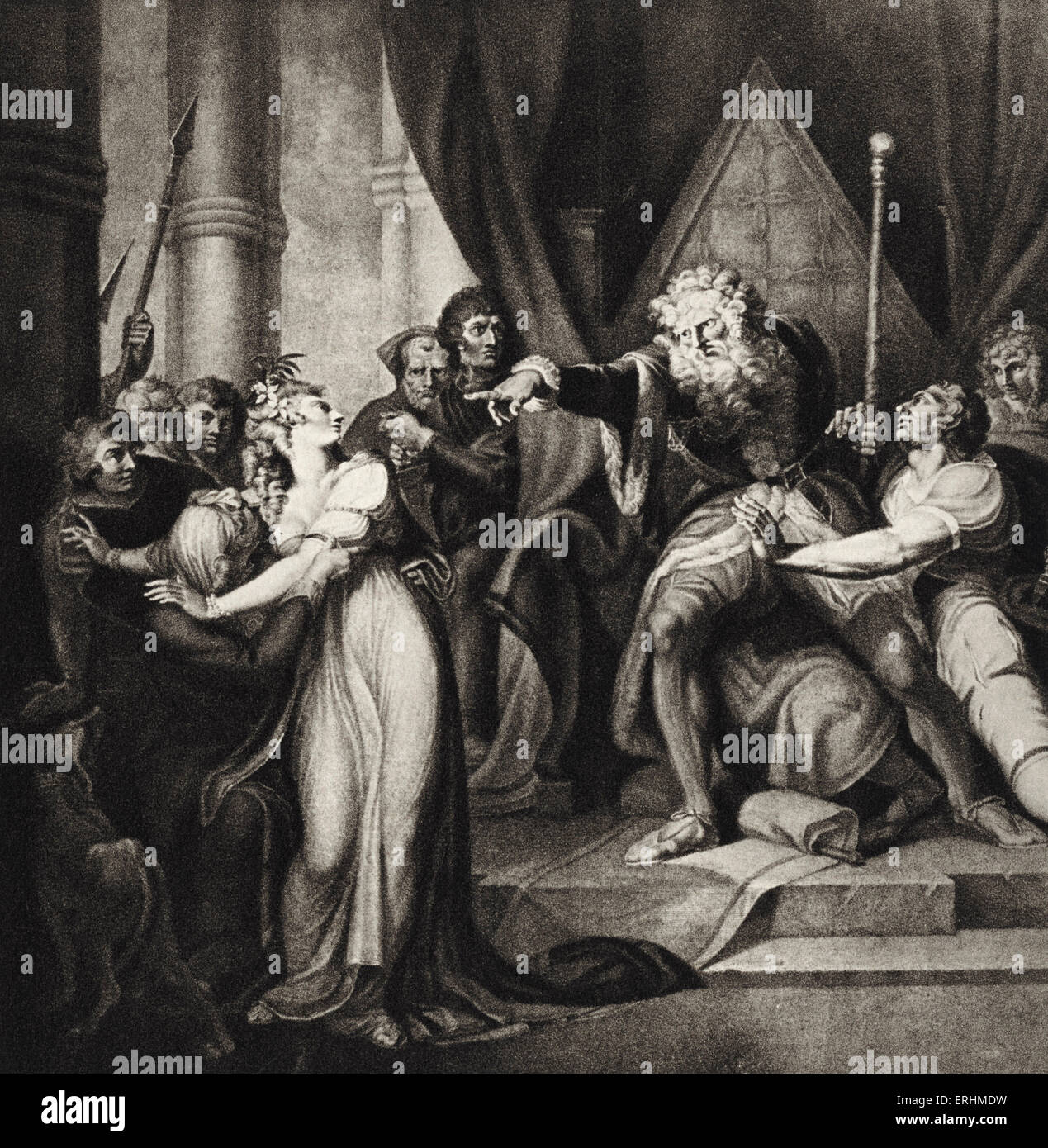 an analysis of the tragedy king lear by william shakespeare Shakespearean tragedy is the designation given to most tragedies written by playwright william shakespeare some events that happen in shakespeare's king lear.