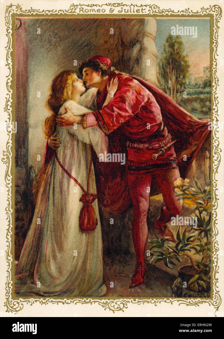 an analysis of the love story of romeo and juliet by william shakespeare He 'shakespeare in love are unleashed as his great love story, romeo and juliet is telling the story that so little is known about william shakespeare.