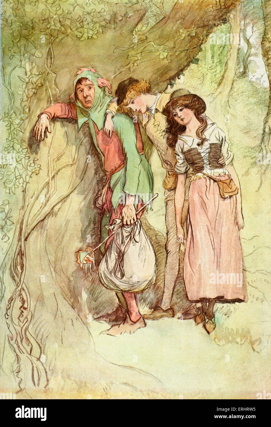a description of as you like it a comedy by shakespeare Plot summary of shakespeare's as you like it: orlando, the youngest son of sir  roland de boys, is ill treated by his brother oliver when he responds to the.