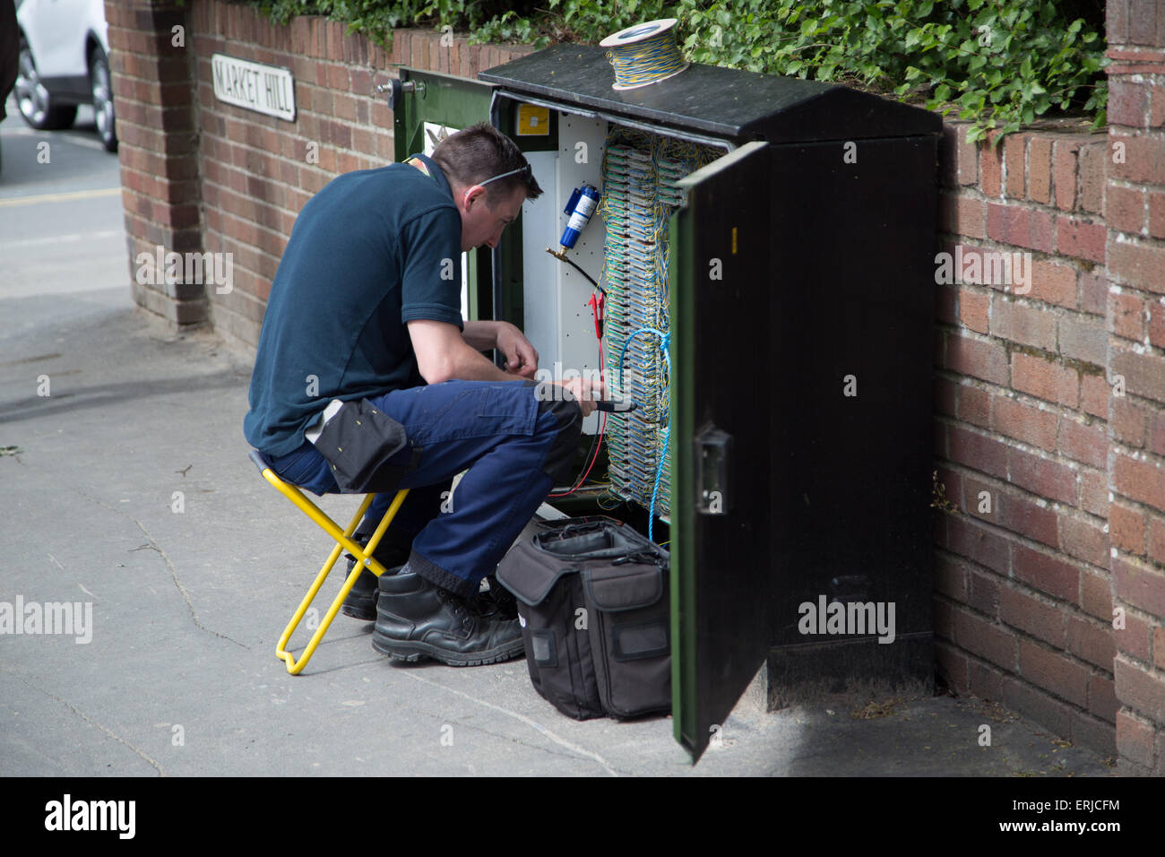 Bt Engineer On A Junction